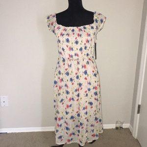 Long Spring Floral Dress